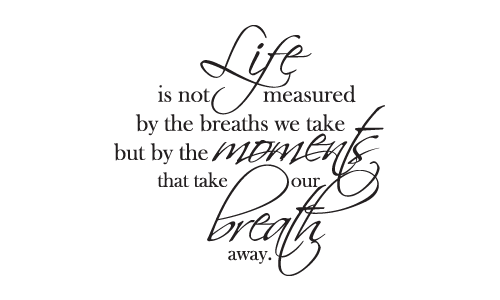 Life Is Not Measured By The Breaths Quote 12 Quotesbae