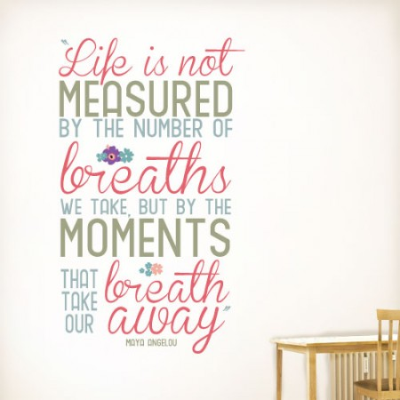 Life Is Not Measured Quote 12