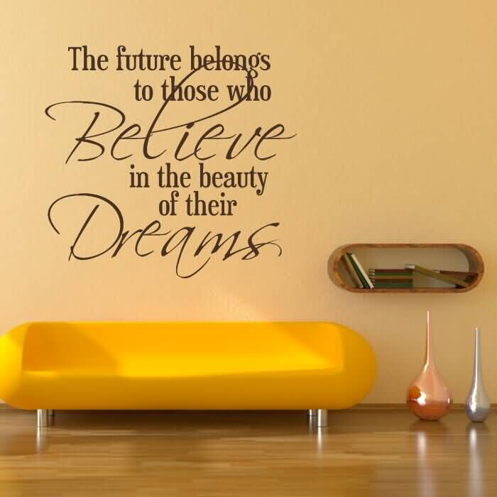 Life Quote Wall Stickers 02