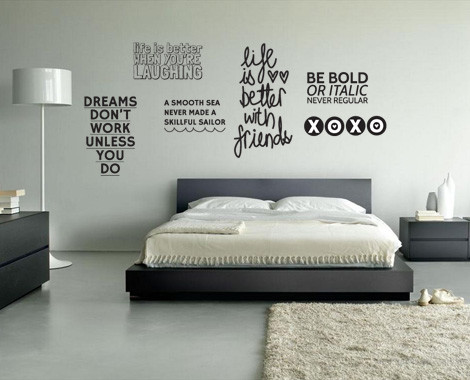 Life Quote Wall Stickers 07
