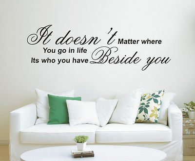 Life Quote Wall Stickers 08
