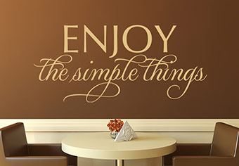 Life Quote Wall Stickers 09