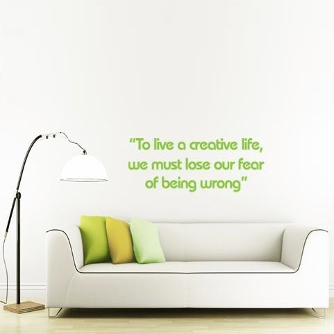Life Quote Wall Stickers 12