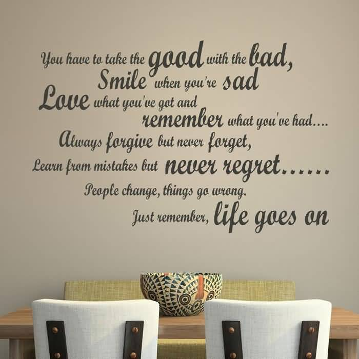 Life Quote Wall Stickers 14