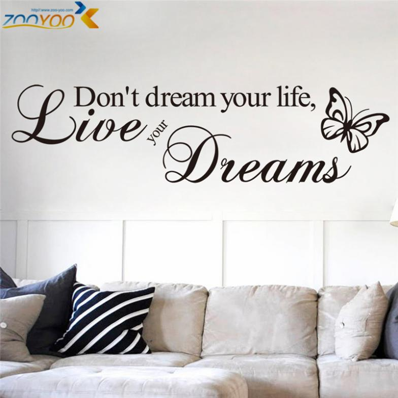Life Quote Wall Stickers 20
