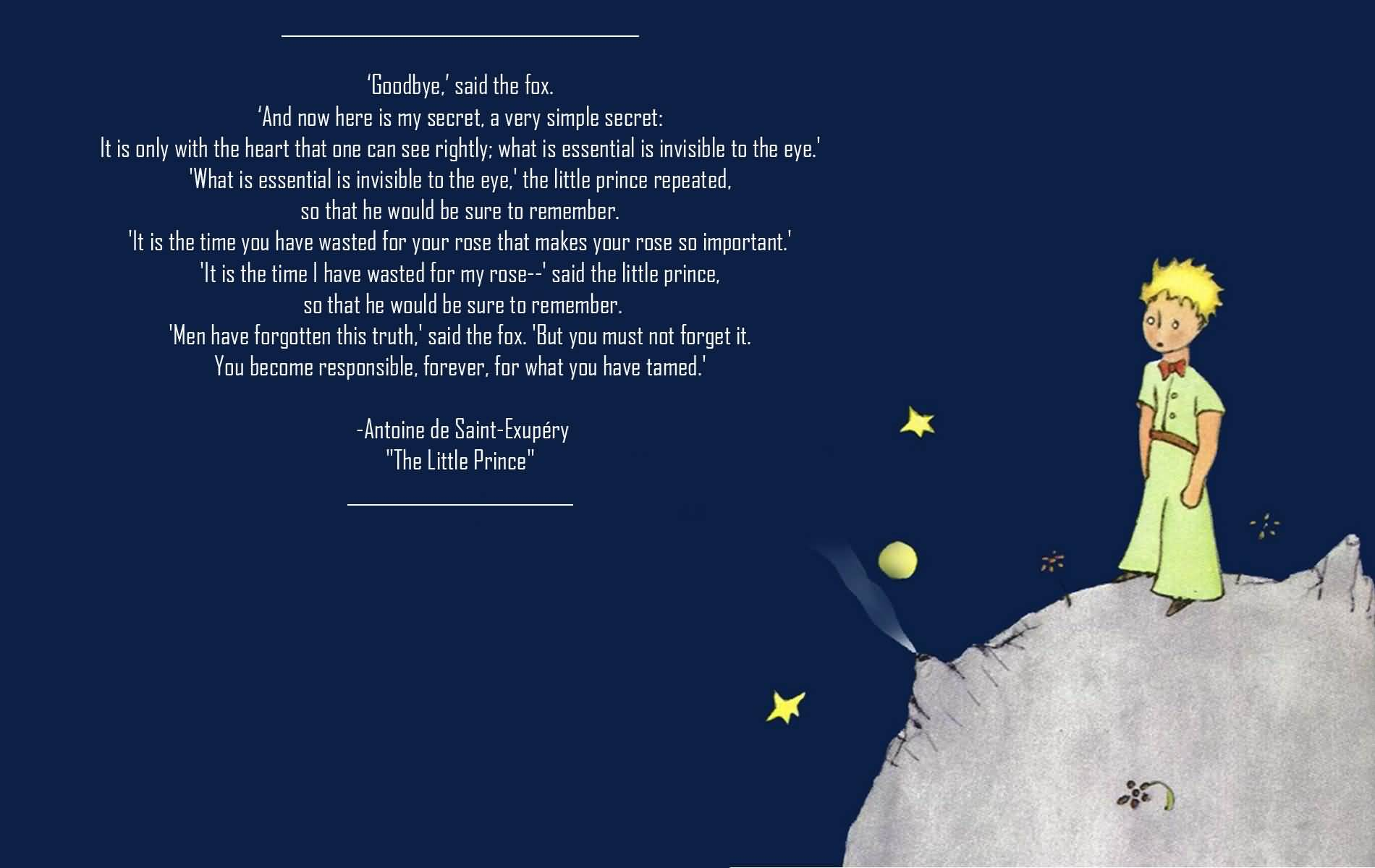 Little Prince Love Quotes 19