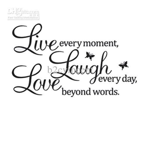 Live Laugh Love Quote 04