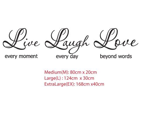 Live Love Laugh Quote 03