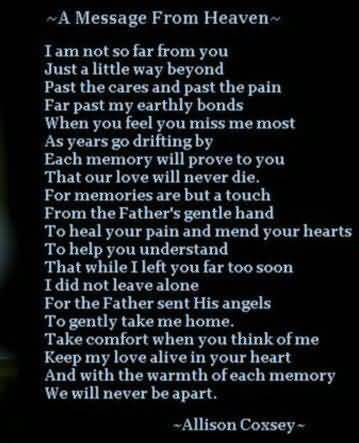Losing A Loved One Quotes And Sayings 20
