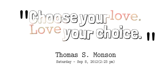 Love Choices Quotes 20