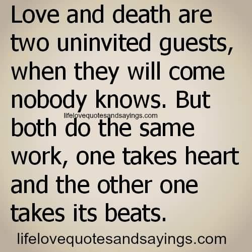 Love Death Quotes 11