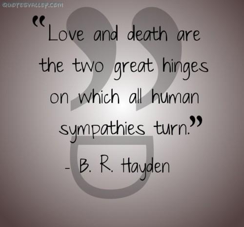 Love Death Quotes 15