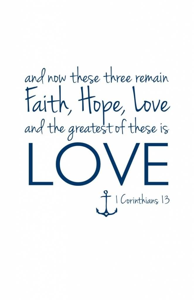 Love Faith Hope Quotes 60 QuotesBae Best Love Faith Hope Quotes