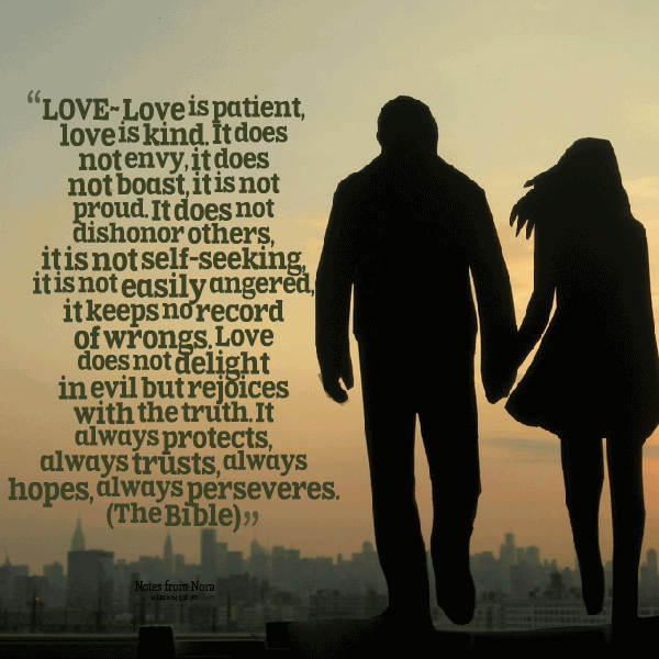 Love Is Patient Love Is Kind Quote 02