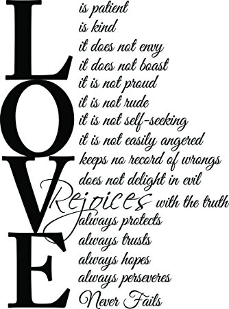 Love Is Patient Love Is Kind Quote 07