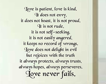 Love Is Patient Love Is Kind Quote 08