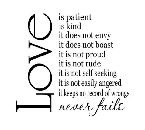 Love Is Patient Love Is Kind Quote 11
