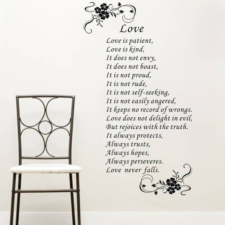 Love Is Patient Love Is Kind Quote 12