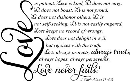 Love Is Patient Love Is Kind Quote 13