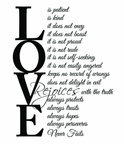 Love Is Patient Love Is Kind Quote 14