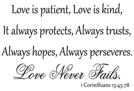Love Is Patient Love Is Kind Quote 18