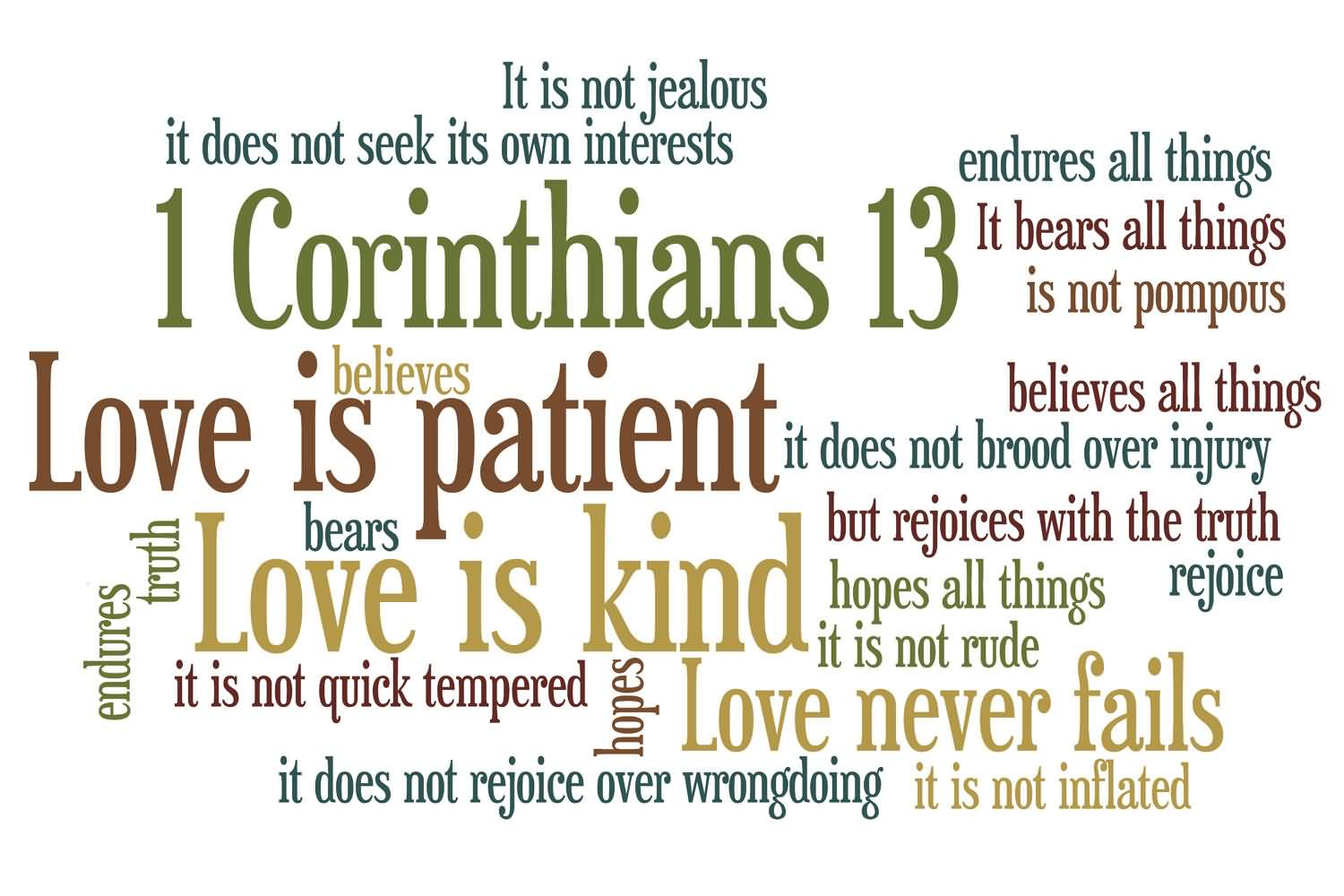 Love Is Quote From Bible 16
