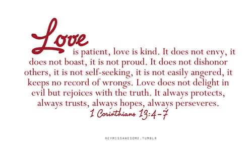 Love Is Quote From Bible 17