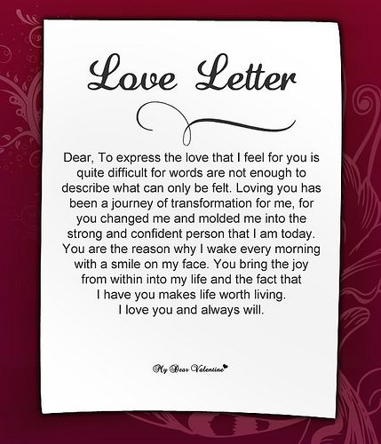 Love Letter Quotes For Him 12