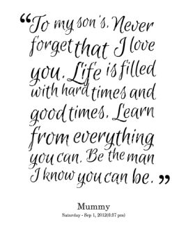 Love My Son Quotes 17