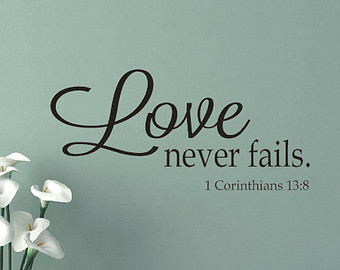 Love Never Fails Quote 04