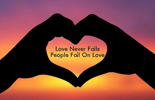 Love Never Fails Quote 06