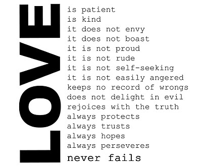 Love Never Fails Quote 15