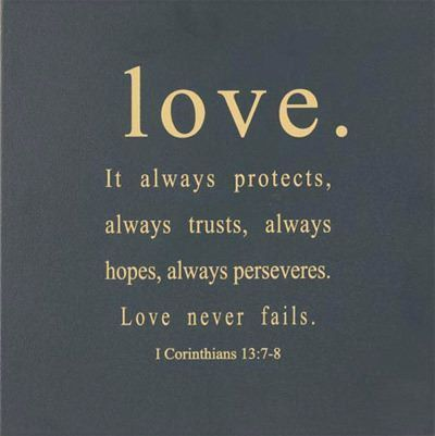 Love Never Fails Quote 17
