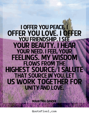Love Peace Quotes 15