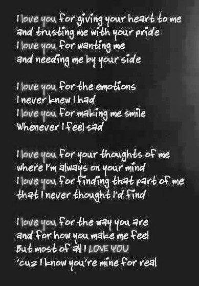 Love Poem Quotes For Him 10