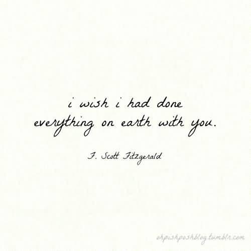 Love Quotes F Scott Fitzgerald 12