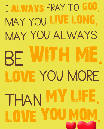 Love Quotes For Mom 07
