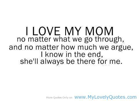 Love Quotes For Mom 08