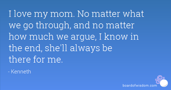 Love Quotes For Mom 09