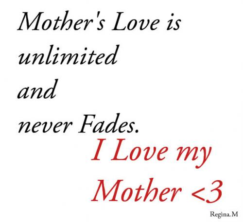Love Quotes For Mom 11