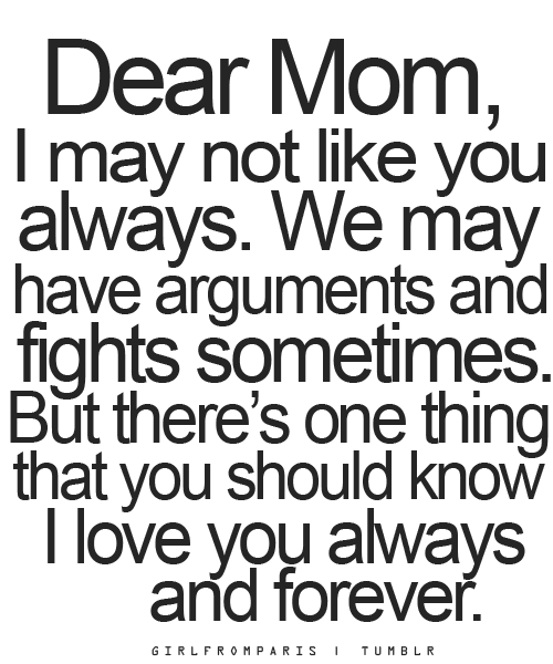 Love Quotes For Mom 15