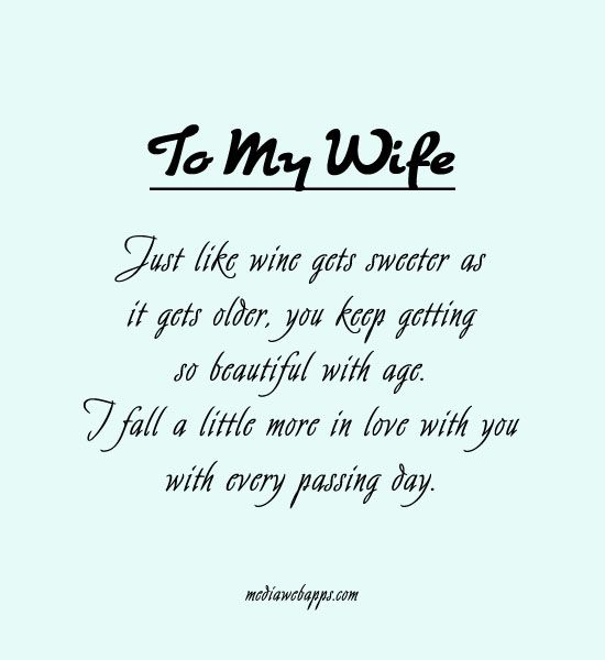 Love Quotes For My Wife 14