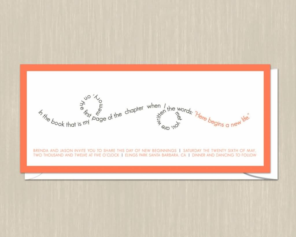 Love Quotes For Wedding Invitations 05