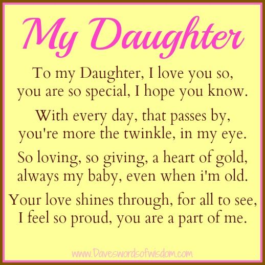 20 Love Quotes To Daughter With Beautiful Slogans Quotesbae