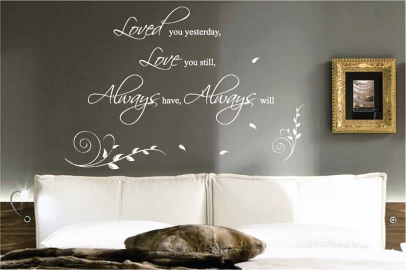 60 Love Quotes Wall Decals Sayings Images Pics QuotesBae Inspiration Love Quotes Wall Decals