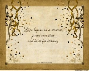 Love Quotes Wedding Invitation 20
