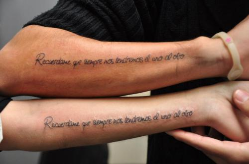 Love Tattoos For Couples Quotes 08 | QuotesBae