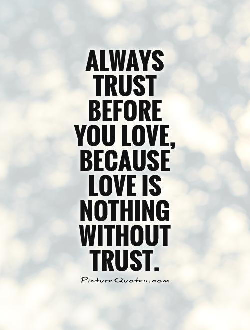 Love Trust Quotes 18