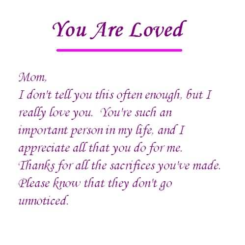 Love You Mommy Quotes 11