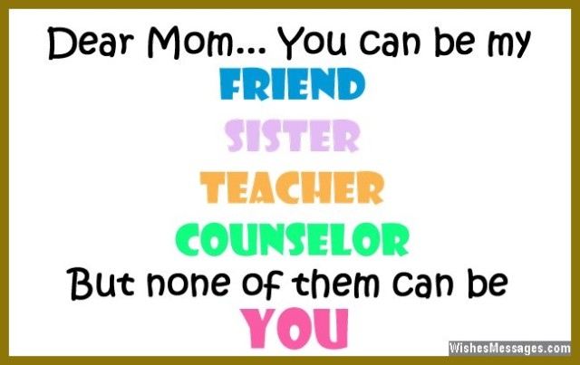 Love You Mommy Quotes 19